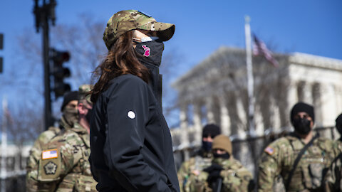 Governor Whitmer visits Michigan National Guard members on duty in Washington DC