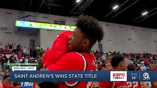 St. Andrews wins 3A state championship