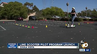 Chula Vista launches E-Scooter Pilot Program