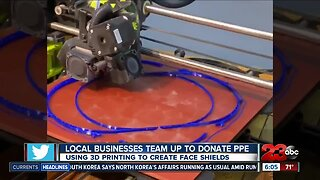 Local businesses team up to donate PPE