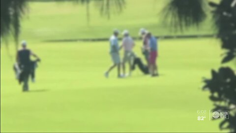 Florida golfers caught ignoring social distancing rules at golf course