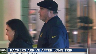 Packers Arive in Atlanta - Video