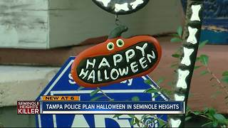 Tampa Police plan to keep Seminole Heights safe for Halloween - Video