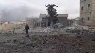 Barrel Bomb Attack Reported on Idlib Town - Video