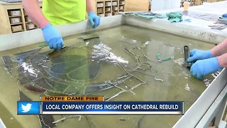 Local company offers insight on cathedral rebuild