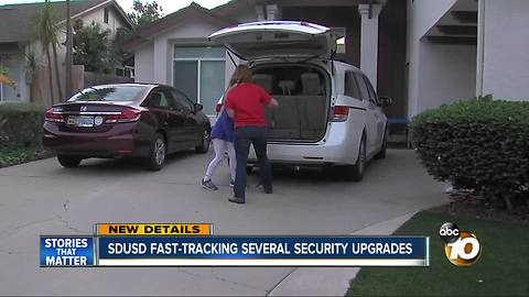 SDUSD fast-tracking several security upgrades