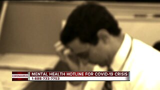 Michigan launches mental health hotline for COVID-19 crisis