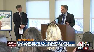 Colyer staying busy ahead of swearing in as gov. - Video