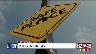 Safe PLace program gives help to teens - Video