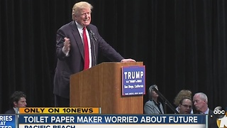 Toilet paper maker worried about future - Video
