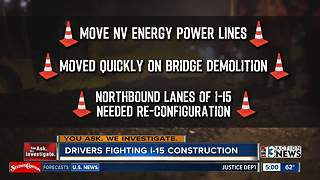 Drivers fume after Project NEON lane closures spill into morning commute - Video