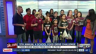 Serving Our Kids hosts 4 Schools Food Challenge - Video