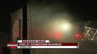 Crews battling fire at Sunrise Oriental Market in Green Bay - Video