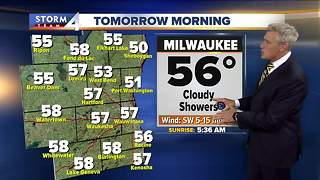 Scattered showers and storms for Wednesday - Video