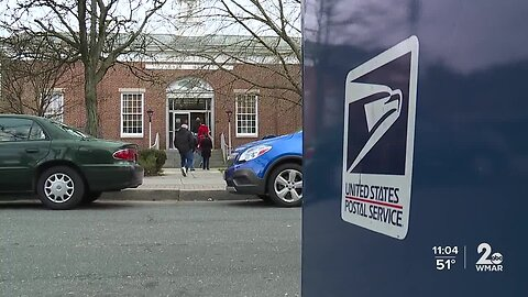 Tempers flare at Dundalk post office after residents say they haven't received mail in days