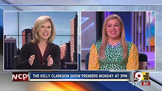 Kelly Clarkson chats about her new show with Kristyn Hartman