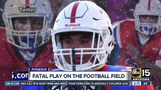 Autopsy report released for player that was killed after severe football hit - Video