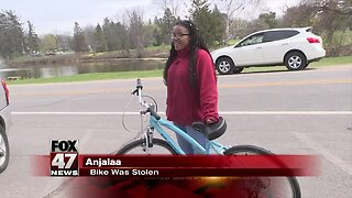 Community responds and finds stolen bike