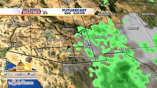 FORECAST: Warm daytime temperatures continue - Video