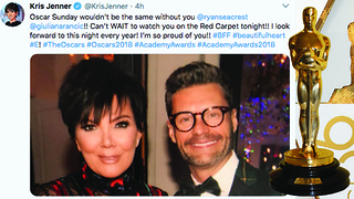 Kardashian Family Speak Out Amid Ryan Seacrest Sexual Assault Allegations | 2018 Academy Awards - Video