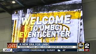 UMBC ready to officially open new Event Center - Video
