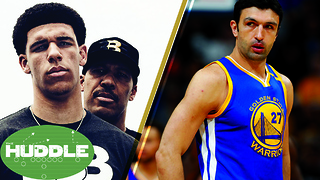 Will Lonzo Ball Be a Laker? Is Zaza Pachulia a DIRTY Player? -The Huddle - Video