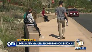 Extra safety measures planned for local schools - Video
