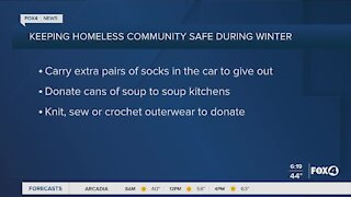 Keeping homeless community safe during winter