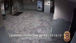Person of interest in death of woman in downtown apartment building - Video