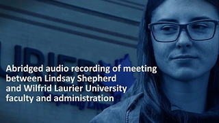 Recorded meeting between Willfrid laurier university grad student and faculty (1) - Video