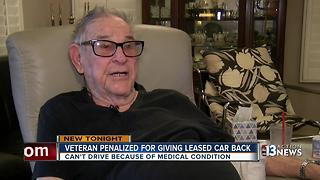 World War II Veteran penalized for giving leased car back - Video