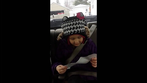 Girl reacts to finding out she's going to be a big sister in the best way possible