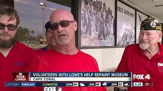 Cape Coral Lowes gives back to local veterans - Video
