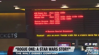 """""""Rogue One: A Star Wars Story"""" opens"""