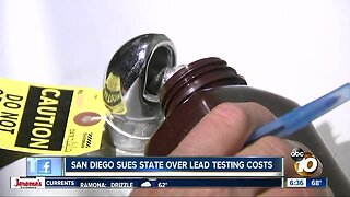 City sues state over costs from lead testing