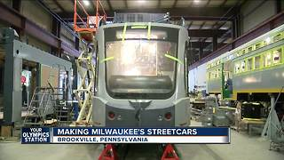 First Look: The Milwaukee Streetcars coming together in Pennsylvania - Video