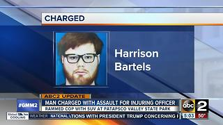 Man charged with assault after DNR officer injured - Video