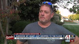 KC man describes deadly Las Vegas shooting - Video