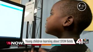 Students learning to code at just 3 years old - Video