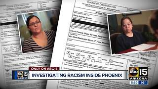 City of Phoenix employees allege years of extreme racial discrimination - Video