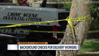 Bill would require background checks for Florida delivery workers