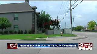 Renters say They Don't Have A/C in Apartments