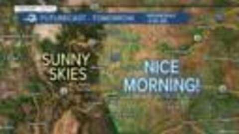 Not as hot in Denver today as Monday, but fire danger remains across southwestern Colorado