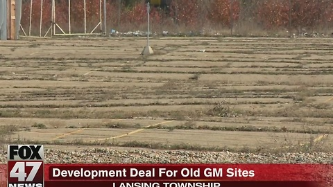 Development deal for old GM sites