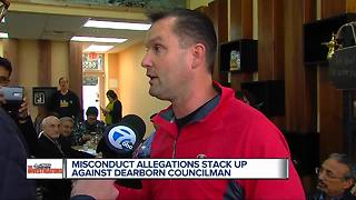 Misconduct allegations stack up against Dearborn Councilman Tom Tafelski - Video