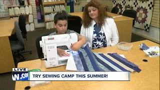 Try summer sewing camp! - Video