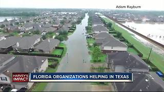 Florida organizations helping in Texas - Video