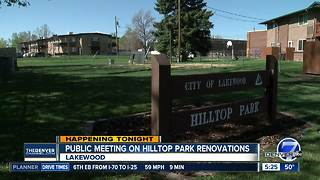 Public meeting on Hilltop Park renovations