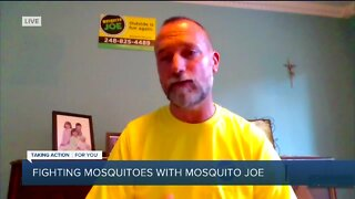 Fighting Mosquitoes with Mosquito Joe