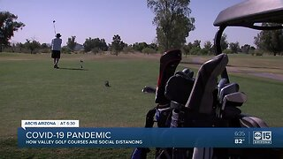 Are Valley golf courses really maintaining social distancing?